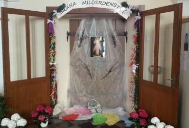 Brána milosrdenství se otevřela