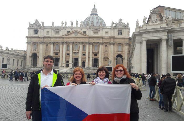 Pouť katechetů do Říma