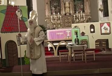Mikuláš v uherčickém kostele  r.2010