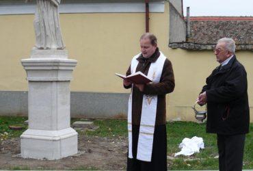 Žehnání sochy sv. Antonína